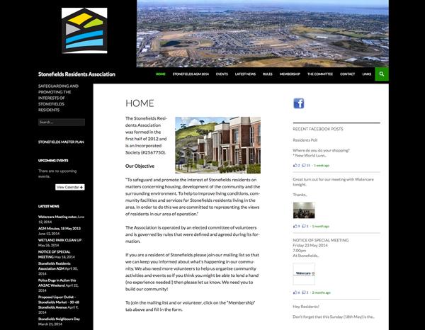 Stonefields Residents Association